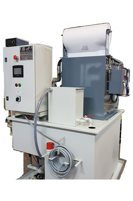 Hydrostatic Mobile Recycling -HMR suitable for Used Grinding Coolant Recycling