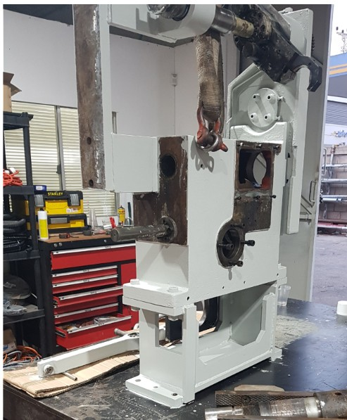 refurbishing a gear for auto tool changer